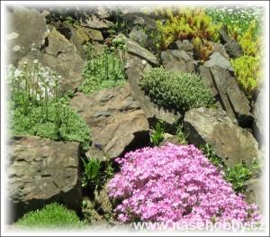 ... je mylný uměle vytvářet napodobeniny skalních útvarů a osazovat