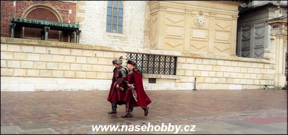 Potkat v Krakově turistické kopie příslušníků polské šlechty není výjimečné.